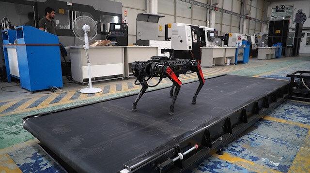 Dört ayaklı robot ARAT'a yeni özellikler eklendi