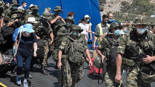 Doğu Akdeniz'de tansiyon yükseliyor: Yunanistan Kızılhisar (Meis) Adasına asker çıkardı