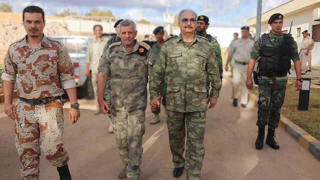 Libya'da ateşkesi baltalayacaklar: Hafter'e paralı asker desteği sürüyor