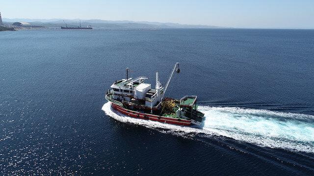 Vira Bismillah: Gırgır tekneleri, yeni av sezonu için uğurlandı