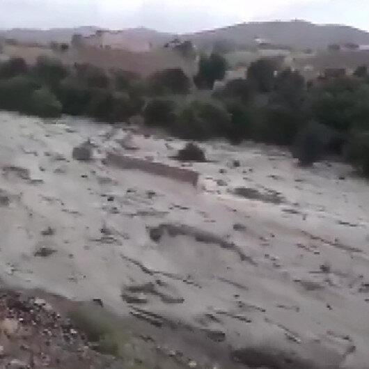 Afganistandaki sel felaketinde 190 kişi hayatını kaybetti