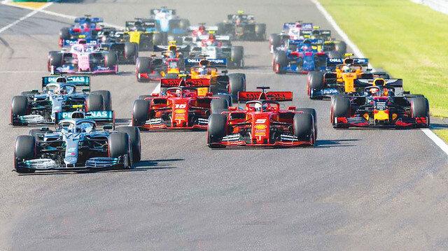 Otuz liraya Formula 1: 100 bin izleyiciyle 100 milyon dolar gelir bekleniyor