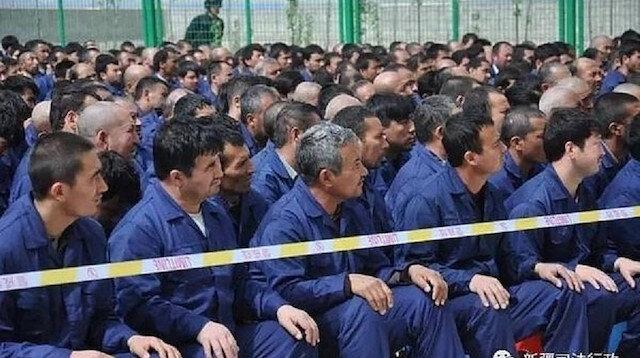 Çin Uygur Türklerine işkence ettiği kampların konumlarını uydudan sildi