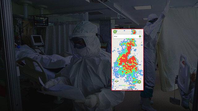 Sağlık Bakanı Koca'nın 'sorunlu' dediği illerin yoğunluk haritaları