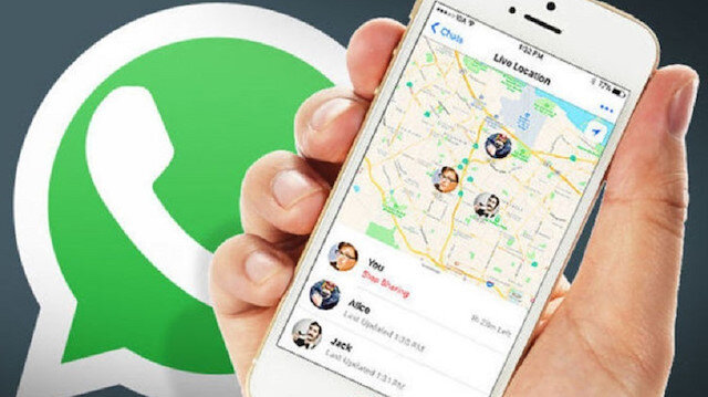Whatsapp'tan konum nasıl atılır?
