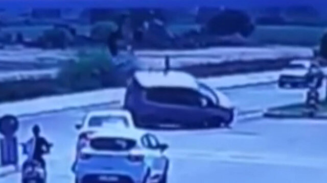 Yunus ekiplerinin ölümden döndüğü feci kaza kamerada: Yaralı polislerin tedavisi devam ediyor