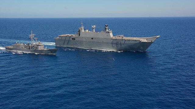 Yunanlıları korkutan gemi: Türkiyenin en büyük savaş gemisi
