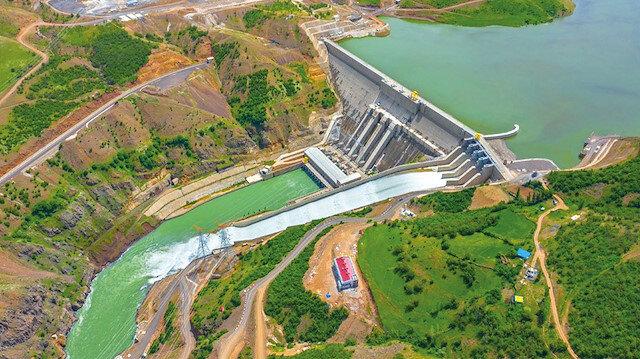 İlk yarı birincisi HES yatırımları: Enerjinin yüzde 66,7'si barajlardan