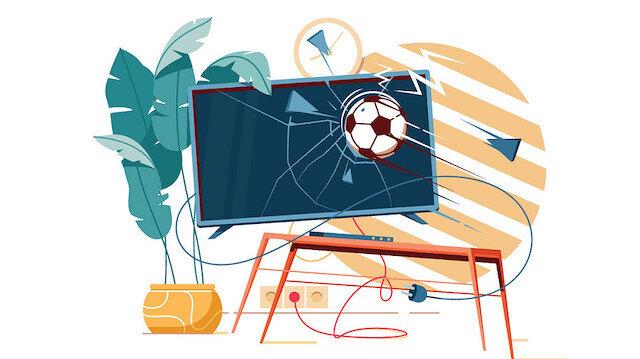 Yaşasın televizyon futbolu!