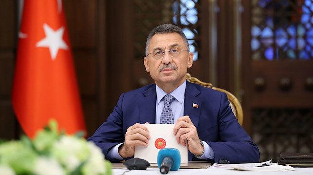 Cumhurbaşkanı Yardımcısı Fuat Oktay: Akdeniz Fırtınası tatbikatı bugün itibariyle KKTC'de başladı