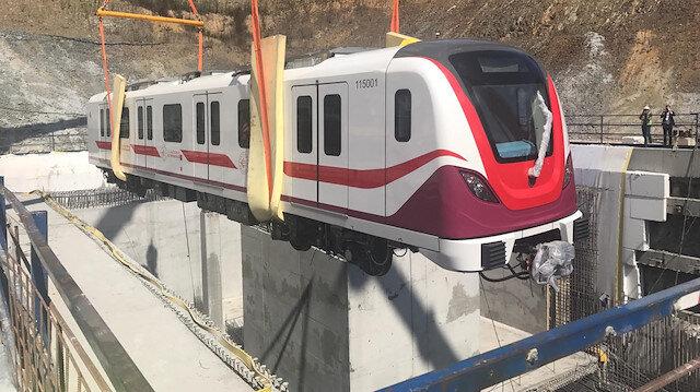 Bakan dev metro projesi hakkında güzel haberi verdi: Testlere başlıyoruz