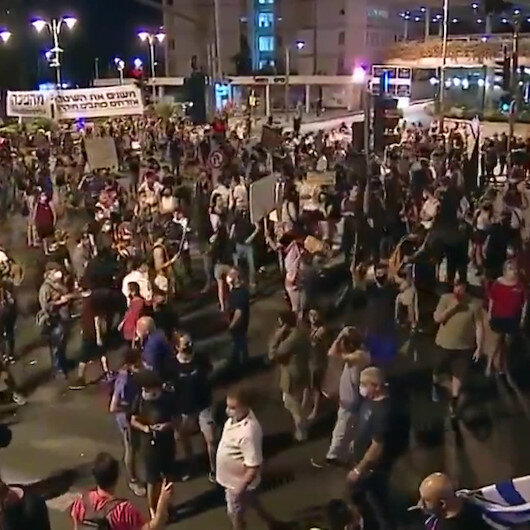 İsraildeki eylemlerde 11inci haftaya girildi: Netanyahu istifa sesleri yükseliyor