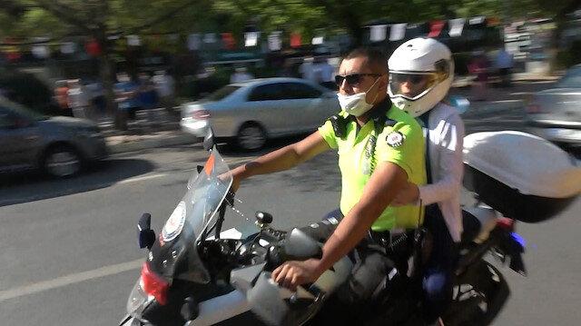 KPSS'de kimliğinin unutan adayların imdadına polis yetişti