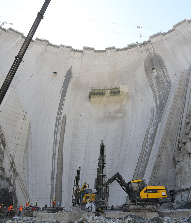 Yusufeli Barajı 2,5 milyon kişinin enerji ihtiyacını karşılayacak.