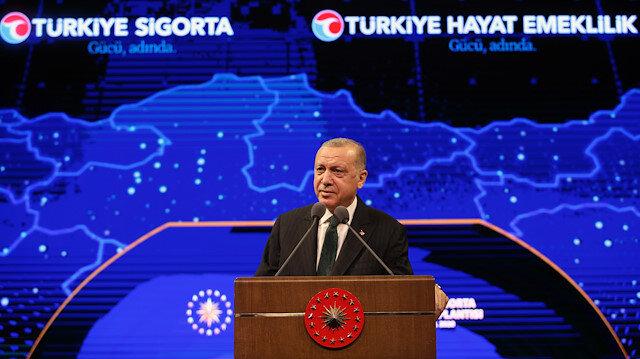 Cumhurbaşkanı Erdoğan: Ülkemizin en büyük sigorta ve emeklilik şirketini tesis ediyoruz