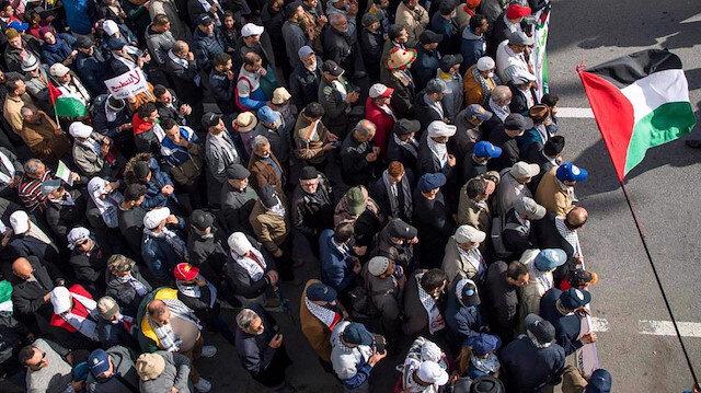 Fas'ta sessizliği halk bozdu