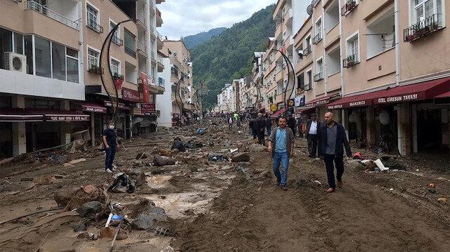 Giresun'daki afetzedelere 5 milyon lira hibe desteği