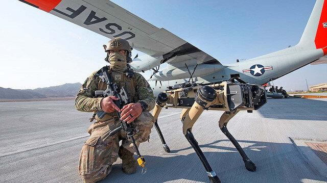 Robot köpekler geliyor: ABD ordusu testlere başladı