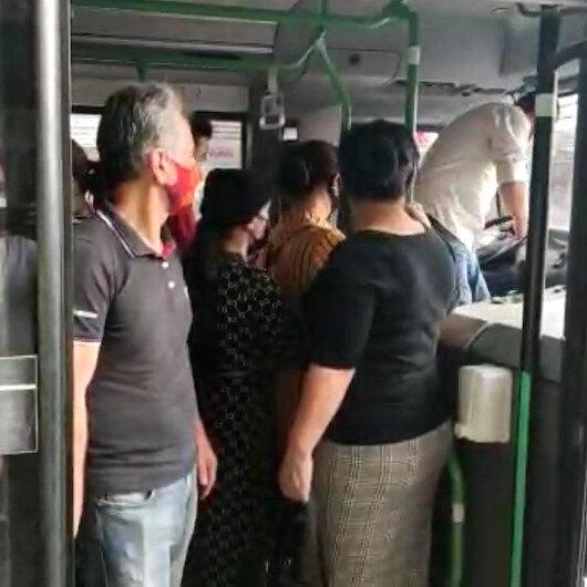 Bursada ayakta yolcu kısıtlamasına uyulmadı: Toplam 40 yolcu taşıyan minibüse ceza kesildi