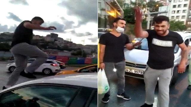 İstanbul Alibeyköy'de trafikte tartıştığı kadına hayatının şokunu yaşatmıştı: İstenen ceza belli oldu
