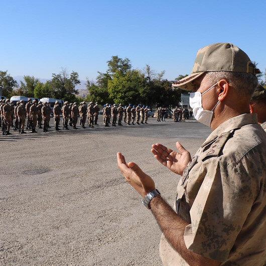 Elazığda komandolar dualarla Suriyeye uğurlandı