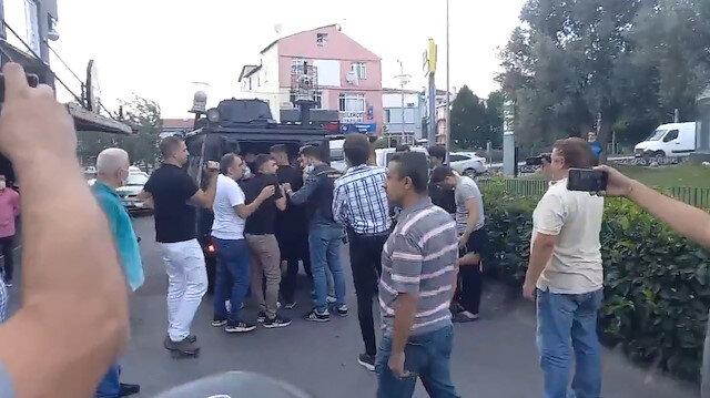 Çağlayan Adliyesi önünde silahlı çatışma: Dört kişi gözaltına alındı