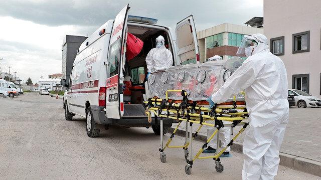 Bu gece başlayacak: KKTC'deki koronavirüs hastaları Türkiye'ye nakledilecek