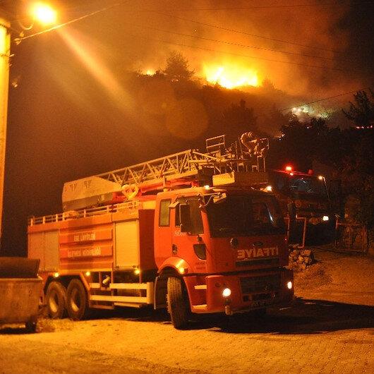 Manisa Somadaki orman yangını kontrol altına alındı