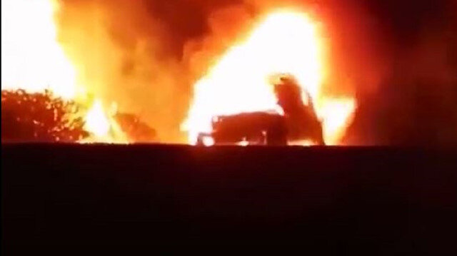 Muğla'da seyir halindeki otomobilde çıkan yangın ormana sıçradı: 5 hektar ağaçlık alan kül oldu