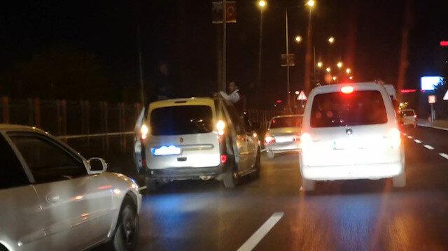 Ne yasak tanıdılar ne korona virüs: Diyarbakır'daki düğün konvoyu kamerada