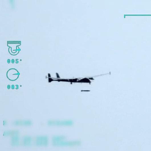 F-16ların kullandığı TEBER güdüm kitli füze ilk kez SİHAdan atıldı