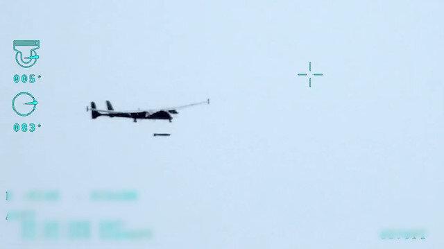 F-16'ların kullandığı TEBER güdüm kitli füze ilk kez SİHA'dan atıldı