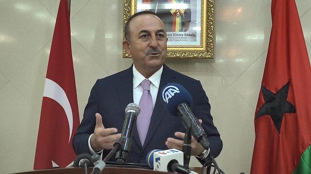 Bakan Çavuşoğlu: Libyada biz meşru taraftayız ancak Fransa darbecileri destekliyor
