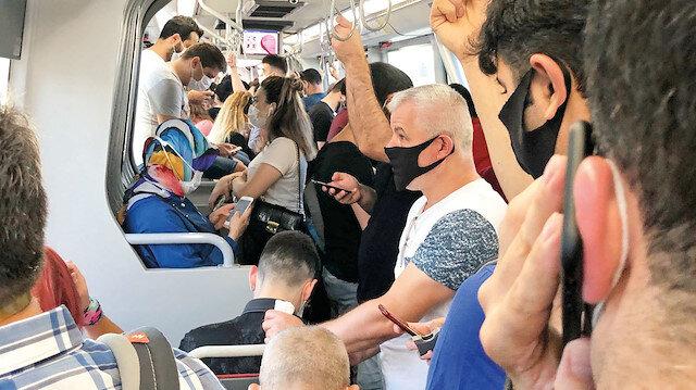 Metrobüs kabusa dönüyor