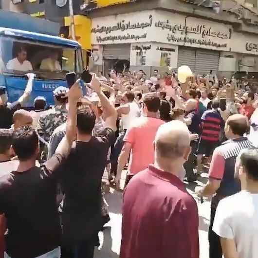 Mısır halkı sokaklara döküldü: Darbeci Sisi rejimi tedirgin