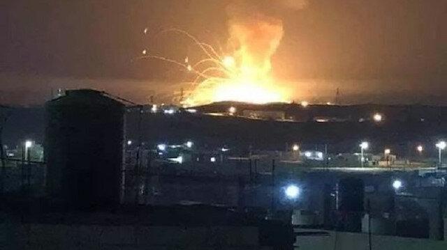 Ürdün'de büyük bir patlama gerçekleşti