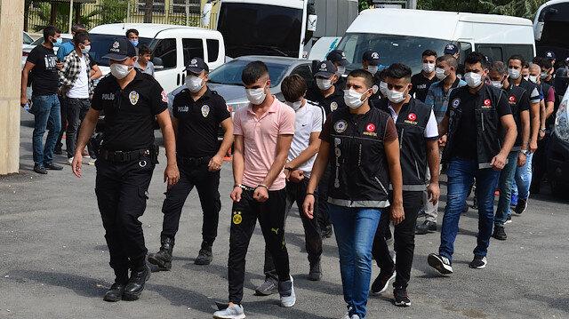 Şanlıurfa'da uyuşturucu operasyonunda 10 tutuklama
