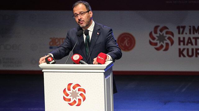 Gençlik ve Spor Bakanı Kasapoğlu: İmam hatipler bu ülkenin iftihar vesilesi, gözbebeği