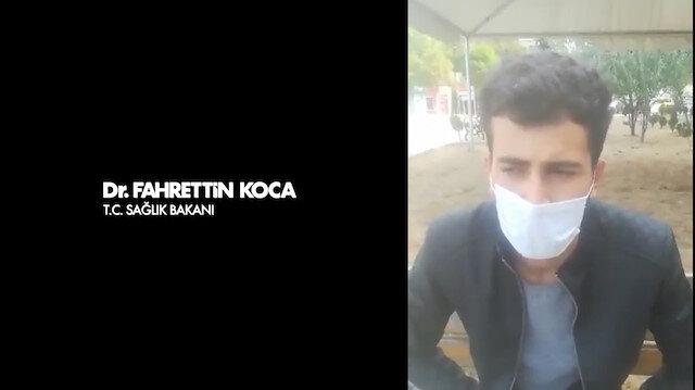 Barış Yarkadaş'ın sosyal medyadan paylaştığı iddiaya Bakan Koca cevap verdi