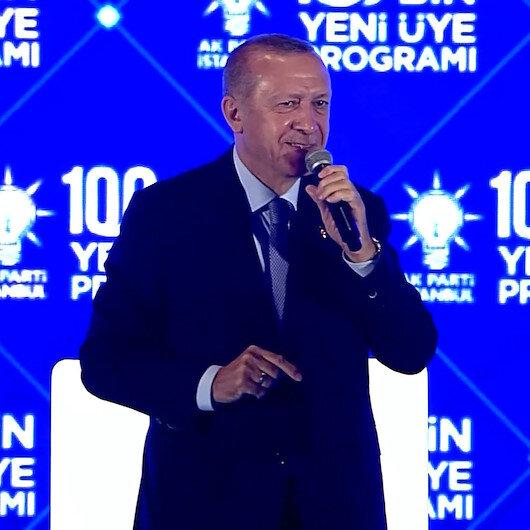 Cumhurbaşkanı Erdoğan'ın kendisine Tayyip dede diyen çocukla gülümseten diyaloğu