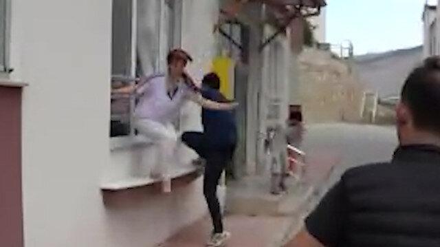 Tokat'ta aranan hırsızı kadının çığlıkları ele verdi