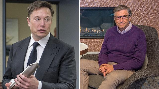 Musk'tan Gates'e: Konu hakkında en ufak bir bilgisi yok