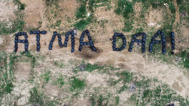 Ordulu temizlik işçilerinin çevreye bırakılan çöplere tepkisi Karadeniz şivesiyle oldu: Atma daa!