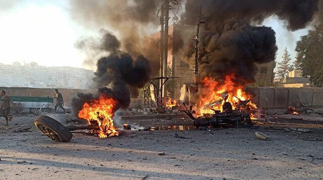 Afrin'de bomba yüklü araçla saldırı: Ölü ve yaralılar var
