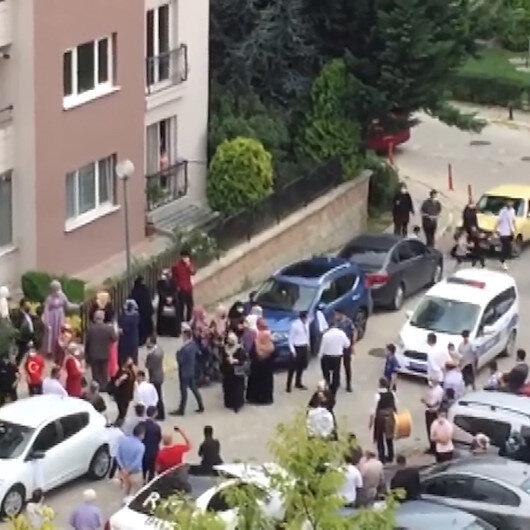 Arnavutköyde davullu zurnalı düğüne polis baskını