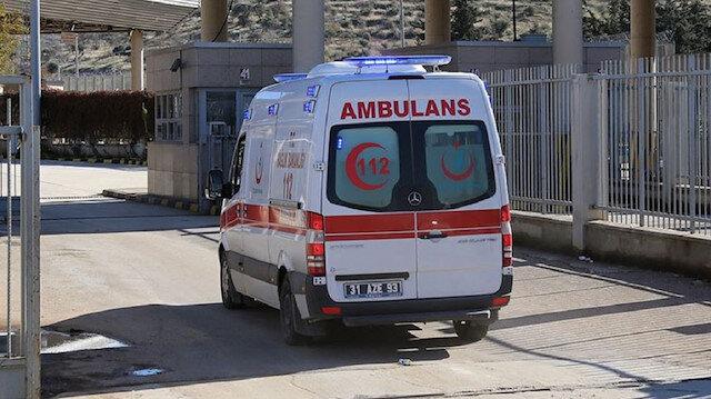 Suriye'nin kuzeyinde seyir halindeki Türk Kızılay aracına silahlı saldırı: Bir Kızılay personeli şehit oldu, bir personel yaralandı
