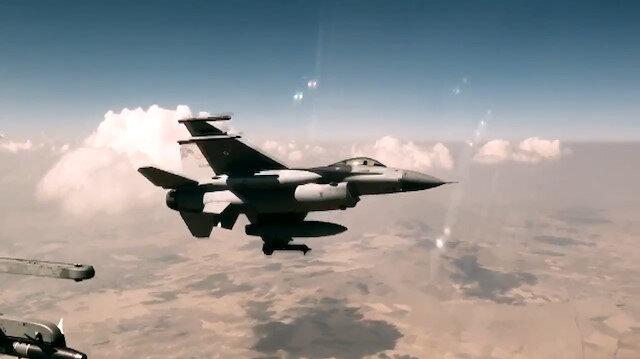 MSB paylaştı: Türk F-16ları ve NATO AWACS ortak uçuş gerçekleştirdi