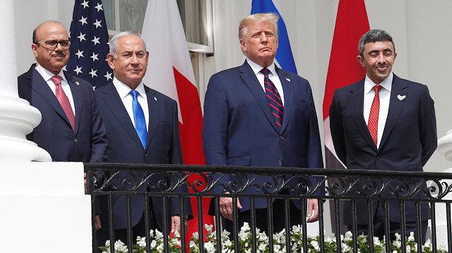 İsrail, BAE ve Bahreyn, Beyaz Saray'da imzayı attı
