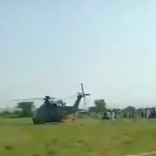 Pakistan Hava Kuvvetleri uçağı eğitim uçuşu sırasında düştü