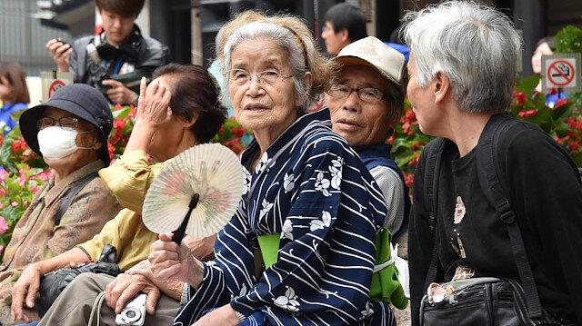 Japonya'da yaşlı nüfus rekor kırdı: 100 yaş üzeri 80 bini geçti